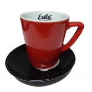 SET 6 TAZZE E PIATTINI CAFFE' ERILO